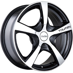 Touren TR9 Black W/ Machined Face 16X7 5-114.3 Wheel