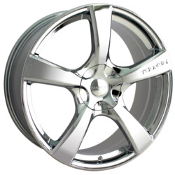 Touren TR9 Chrome 18X8 5-114.3 Wheel