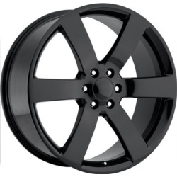 Wheel Replicas TRAILBLAZER SS Gloss Black 20X8 6-127 Wheel