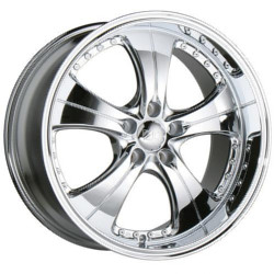 Ace TREND Chrome 19X9 5-114.3 Wheel