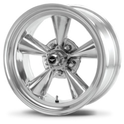 American Racing Hot Rod TT O Polished 15X9 5-127 Wheel