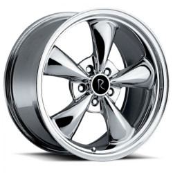 OE Replicas TYPE 180 - BULLET Chrome 17X8 5-114.3 Wheel