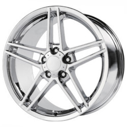 OE Replicas TYPE 236 - C6 Z06 Chrome 17X10 5-120.7 Wheel