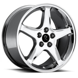 OE Replicas TYPE 280 - COBRA R Chrome 17X9 4-108 Wheel
