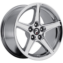 OE Replicas TYPE 300 - SPEEDSTAR Chrome 17X9 5-114.3 Wheel