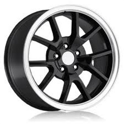 OE Replicas TYPE 380 - R5 Black 17X9 5-114.3 Wheel