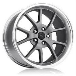 OE Replicas TYPE 380 - R5 Sandblasted Charcoal W/ Machined Lip 17X9 5-114.3 Wheel