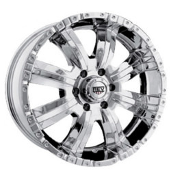 Rev TYPE 808 - RWD OFFROAD Chrome 17X9 5-139.7 Wheel