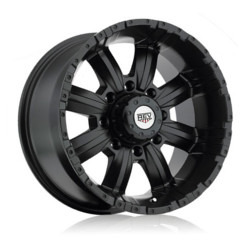 Rev TYPE 808 - RWD OFFROAD M/Black 17X9 5-127 Wheel