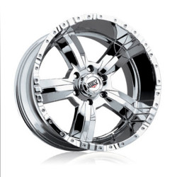 Rev TYPE 813 - 50 CAL Chrome 17X9 5-114.3 Wheel