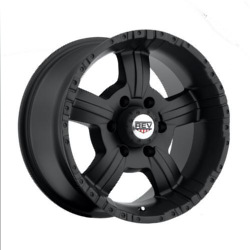 Rev TYPE 813 - 50 CAL M/Black 18X10 6-135 Wheel