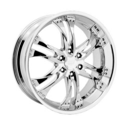 Rev TYPE 821 - EDGE Chrome 20X9 6-139.7 Wheel