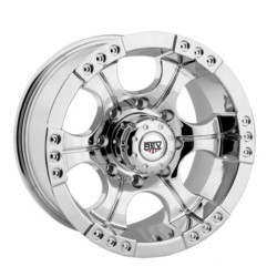 Rev TYPE 824 - SHOOTER Chrome 17X9 5-127 Wheel
