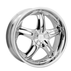 Rev TYPE 826 - BLADE Chrome 16X7 5-114.3 Wheel