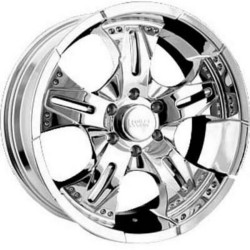Rev TYPE 926C - COMMANDO Chrome 15X8 5-120.7 Wheel