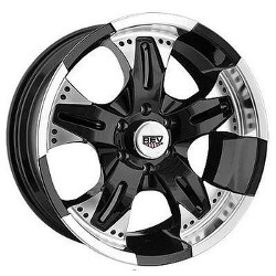 Rev TYPE 926MB - COMMANDO M/ Black 16X8 8-165.1 Wheel
