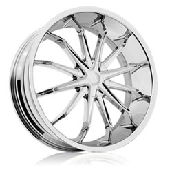 Rev TYPE 950 - XO Chrome 26X9 5-120 Wheel