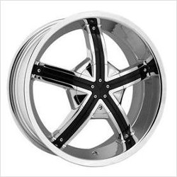 Rev TYPE 989 - NEWPORT Chrome 17X7 5-110 Wheel