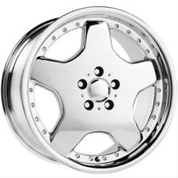 Wheel Replicas TYPE M Chrome 18X8 5-112 Wheel