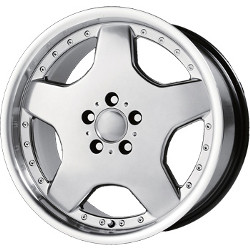 Wheel Replicas TYPE M Hyper Silver Dark 18X8 5-112 Wheel