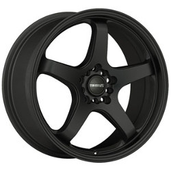 Tenzo-R Tracer V.1 Black 17X7 5-100 Wheel