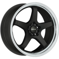 Tenzo-R Tracer V.2 Black 17X7 4-100 Wheel