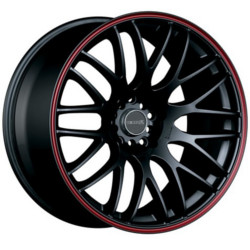 Tenzo-R Type-M V.1 Black/Red 19X9 5-100 Wheel
