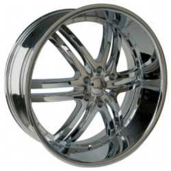U2 U2-100S-B Chrome 22X10 6-139.7 Wheel