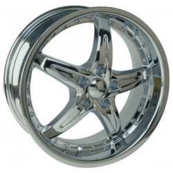 U2 U2-105S-A Chrome 20X8 5-114.3 Wheel