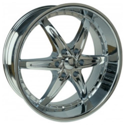 U2 U2-105S-B Chrome Wheel