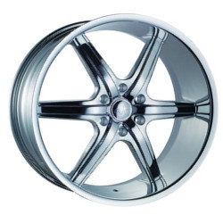 U2 U2-120S-B Chrome 24X10 6-139.7 Wheel