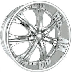 U2 U2-35 Chrome 20X9 6-127 Wheel