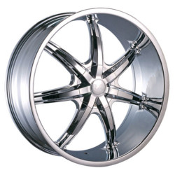 U2 U2-35S Chrome 20X8 5-108 Wheel