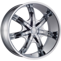 U2 U2-35T Chrome Wheel