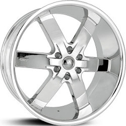 U2 U2-55S Chrome 22X10 5-135 Wheel