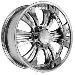 U2 U2-90 Chrome 20X9 8-170 Wheel