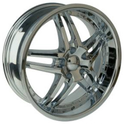 U2 U2-95S-A Chrome 22X10 5-115 Wheel