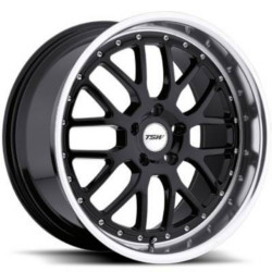 TSW VALENCIA Matte Black 20X10 5-112 Wheel
