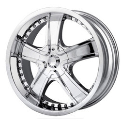 Veloche VELVET Chrome 20X9 5-112 Wheel