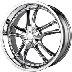 Veloche VENTATA Chrome 22X9 5-127 Wheel
