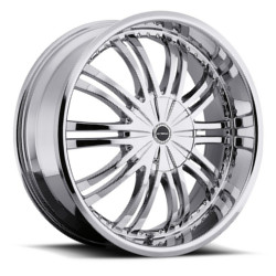 Strada VENTI Chrome 24X10 5-115 Wheel