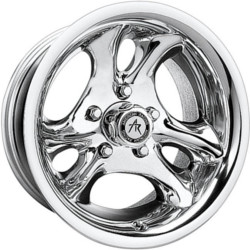 American Racing VENTURA Polished 16X8 5-114.3 Wheel