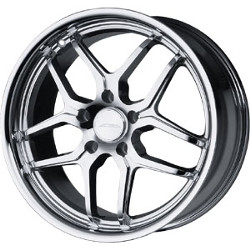 Ace VERTEX Chrome 18X8 5-120 Wheel