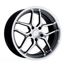Ace VERTEX Gunmetal 18X8 5-100 Wheel
