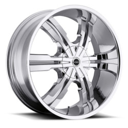 Strada VETRO Chrome 24X10 5-114.3 Wheel