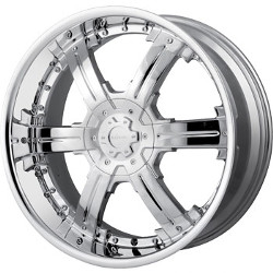 Veloche VICIOUS Chrome 22X10 5-115 Wheel