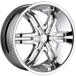 Veloche VICTORY Chrome 24X10 6-135 Wheel