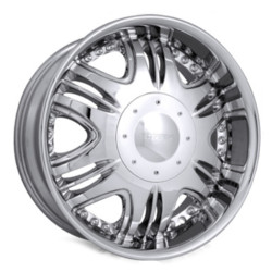 Strada VILLA Chrome 20X9 6-139.7 Wheel