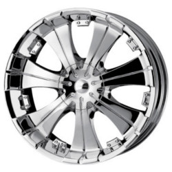 Veloche VILLANO Chrome 24X10 5-127 Wheel