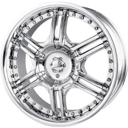 Veloche VIZZO Chrome 18X8 5-115 Wheel